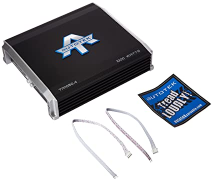 Autotek Ta 1050.4 Ta serie 1.000 W 4 canales clase AB amplificador