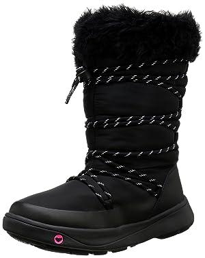 Roxy Women's Summit Snow Boot, Black, 8 M US