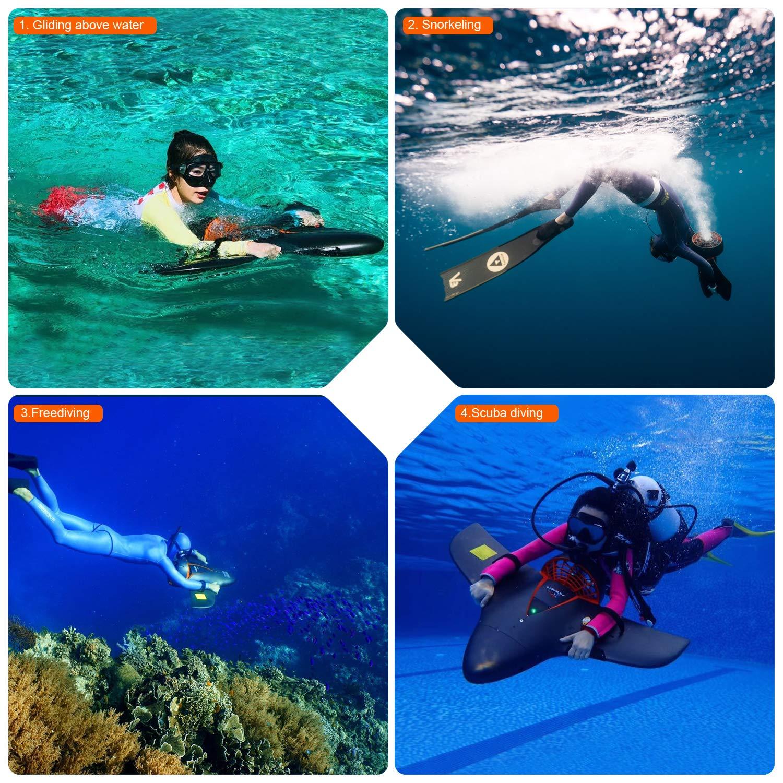 Patinete subacuático de Hoverstar, aprobado por CE y UL ...