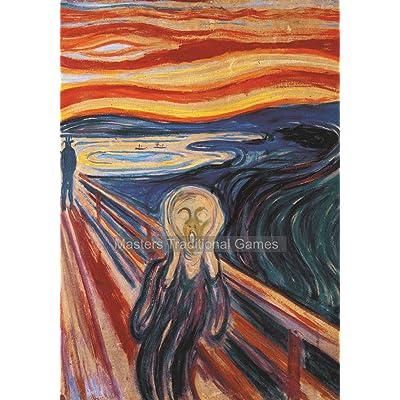 Piatnik Munch The Scream Jigsaw Puzzle (1000 Pieces): Toys & Games