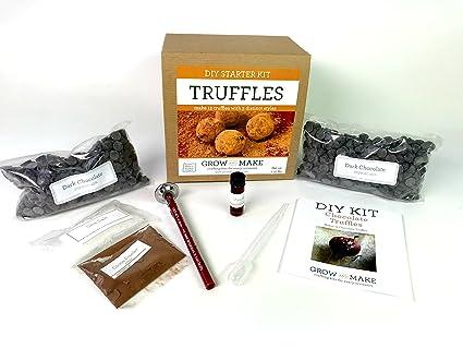 Grow And Make Diy Chocolate Truffle Home Made Making Kit