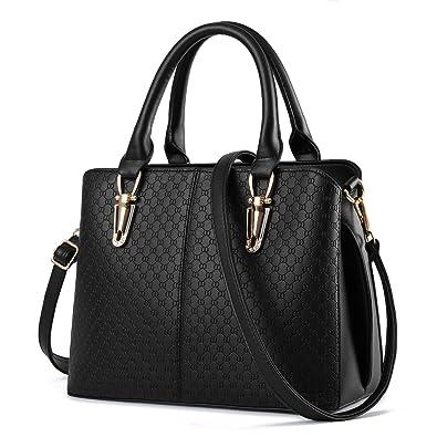 TcIFE Women Top Handle Satchel Handbags Tote Purse: Handbags ...