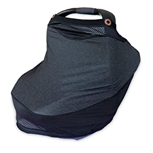 Boppy 4 & More Multi-Use Cover, Charcoal
