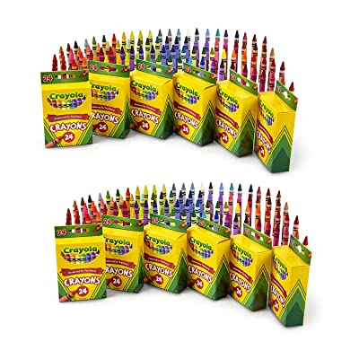 24 Count Crayons (12-Pack): Office Products