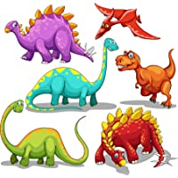 Tattoos for Kids 140 Pack Dinosaur Temporary Tattoos 1.5'' by 1.5'' for Birthday Party Supplies