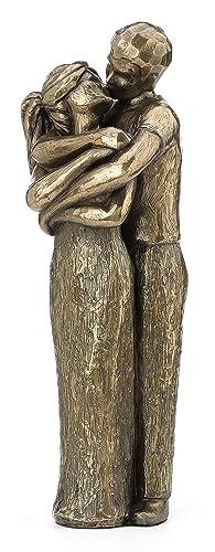 JFSM INC. Soulmates Lovers Kissing Sculpture – Perfect Wedding
