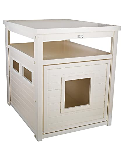Amazon Com Ecoflex Jumbo Litter Loo Litter Box Cover End Table