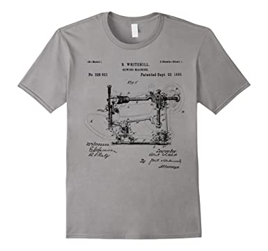 Amazon Sewing Machine Patent 40 Quilting Funny Tailor T Shirt Cool How To Tailor A Shirt Without A Sewing Machine