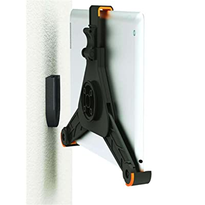 ZAZZ Wall Mount for iPad/ Kindle and Tablets (Black) [5Bkhe1004293]