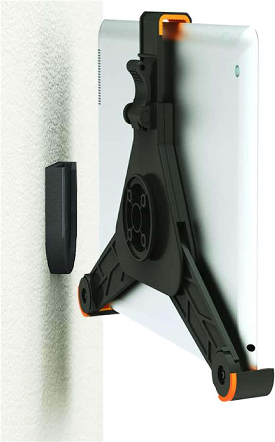 ZAZZ Wall Mount for iPad// Kindle and Tablets Black