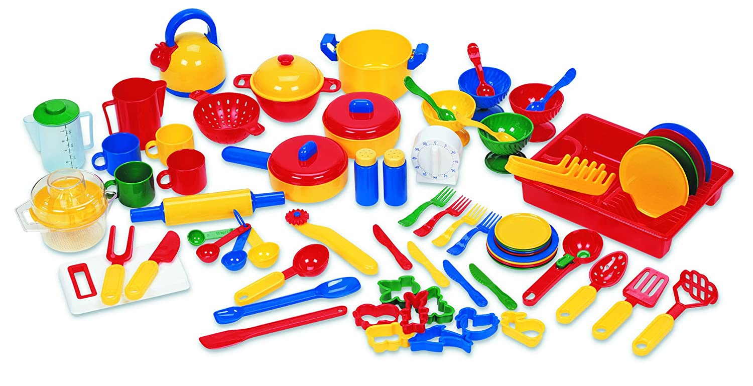 amazoncom learning resources pretend amp play kitchen set  - amazoncom learning resources pretend amp play kitchen set toys  games