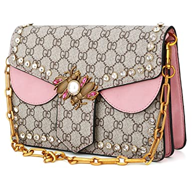752559419d12 Image Unavailable. Image not available for. Colour  Womens Fashion Leather  Vintage Large Crossbody Bag Handbag Ladies ...