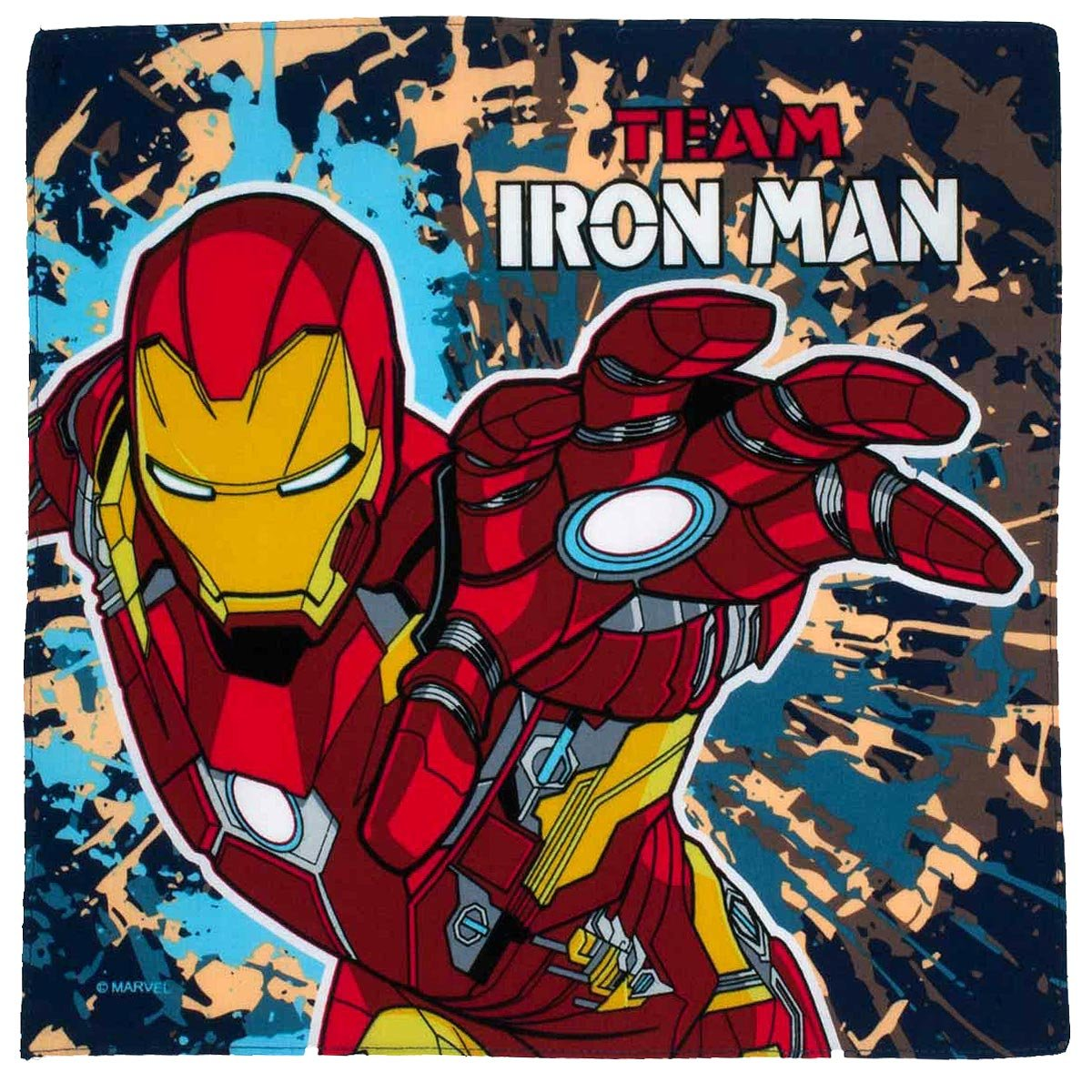 'Ironman' children' s handkerchiefs - 14' square - 3 units in a bag. Merrysquare