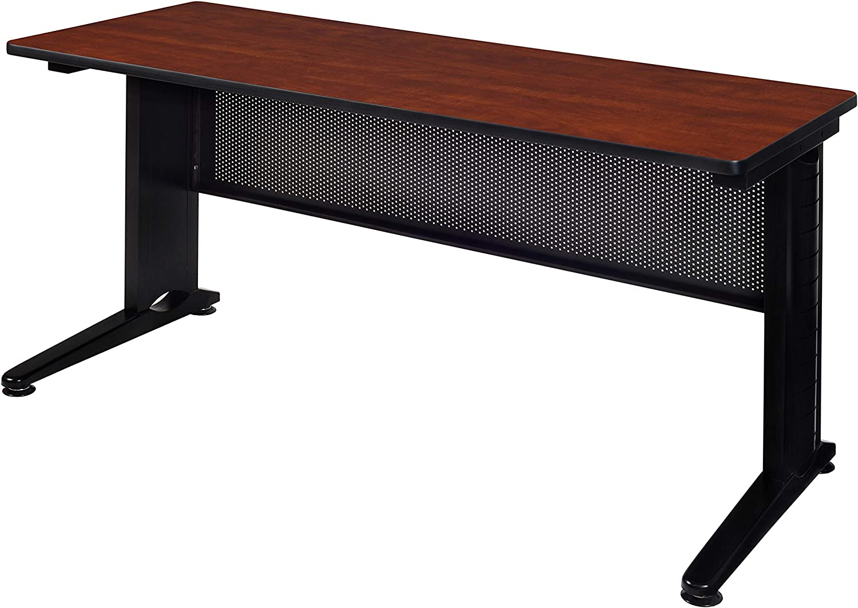 Amazon Com Regency Fusion 72 X 24 Training Table Cherry Furniture Decor