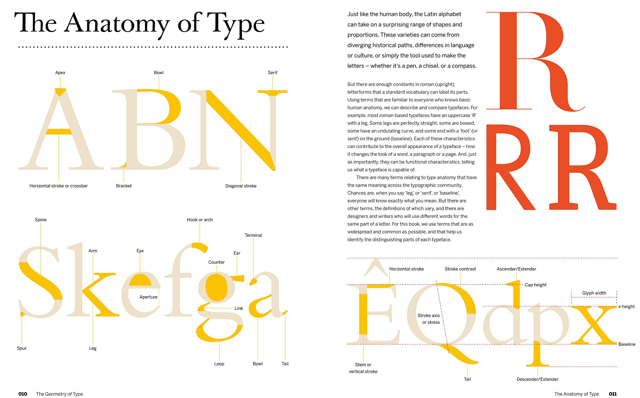The Geometry Of Type Anatomy 100 Essential Typefaces Amazoncouk Stephen Coles Erik Spiekermann 9780500292457 Books