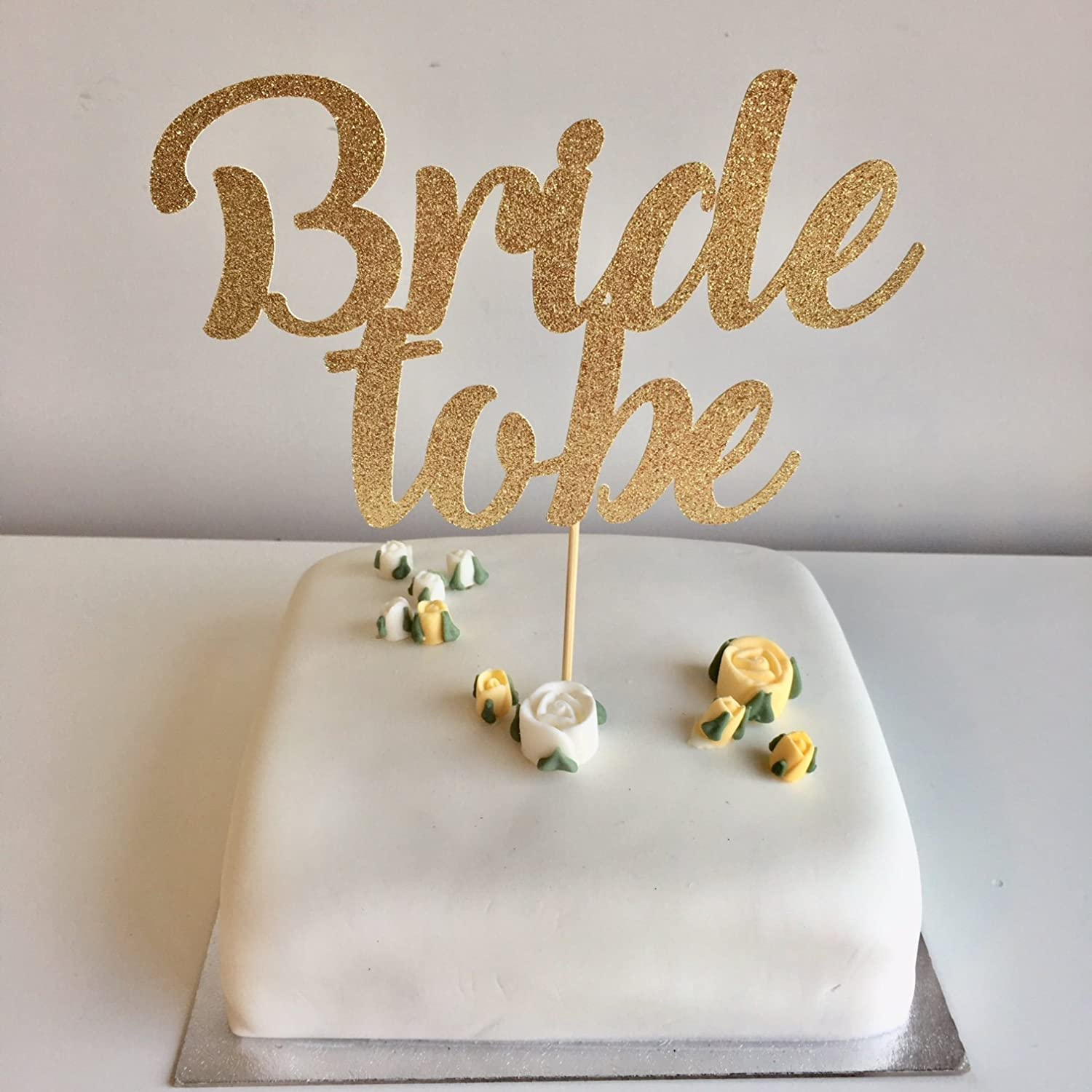 Script party cake Cake topper for bachelorette parties. Bridal shower cake decor Bride to be cake topper Hen Party cake topper