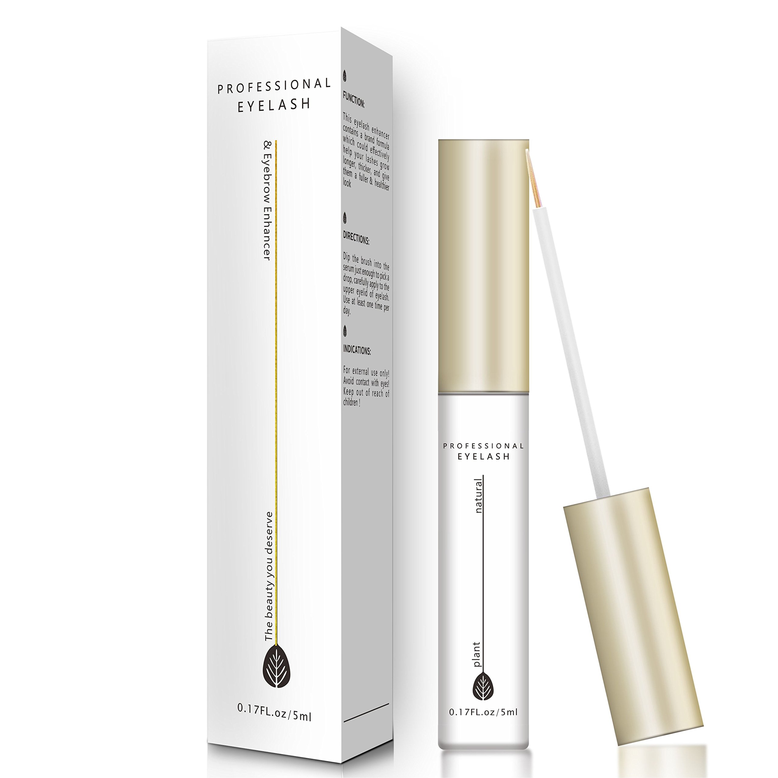 Amazon Natural Eyelash Growth Serum Rapid Eyelash Enhancer