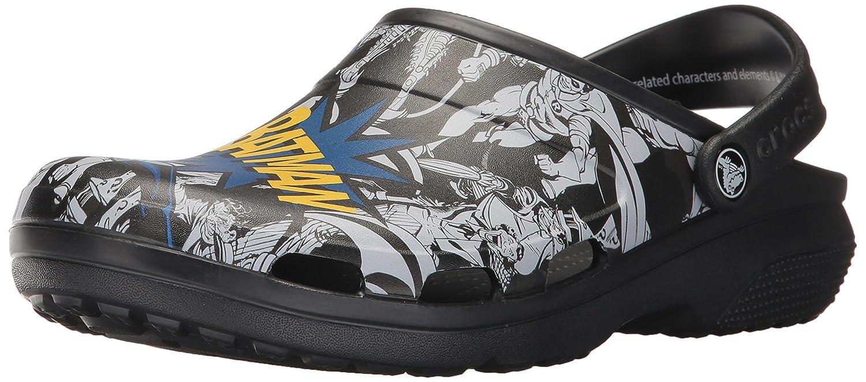 c6a5837a372 Amazon.com | crocs Unisex's Classic Batman Clog Mule, Black, 9 M US | Mules  & Clogs