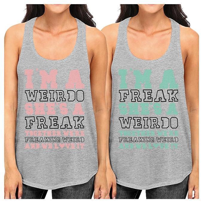 Amazon.com: 365 impresión Weirdo Freak mejor amigo regalo ...