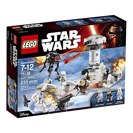 Amazon Lego Star Wars Hoth Attack 75138 Toys Games