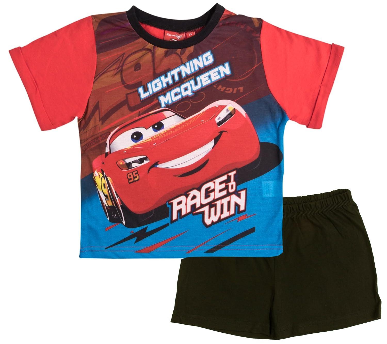 Disney Cars Boys Short Pajamas Pjs