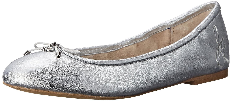 Sam Edelman Women's Felicia Ballet Flat B008O6MIIE 5 B(M) US|Soft Silver Metallic