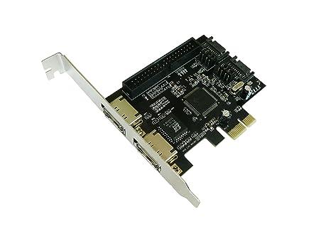 PCIE a IDE y SATA II tarjeta controladora - 1 x PCI EXPRESS ...