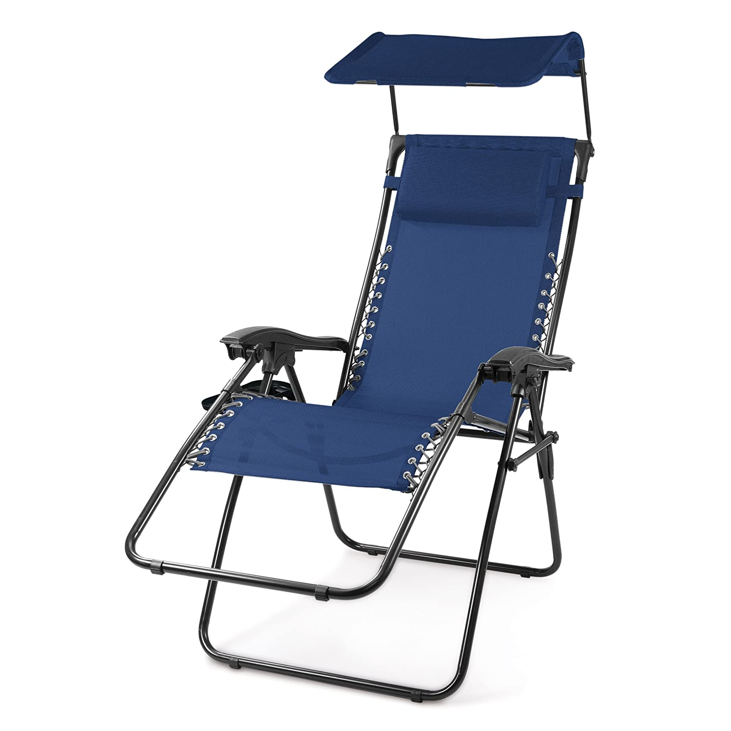 amazon com picnic time portable serenity reclining lounge chair