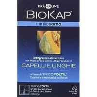 BiosLine Biokap Miglio Uomo Integratore Alimentare Capelli E Unghie 60 Capsule