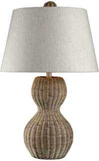 Dimond Lighting 111 1088 Sycamore Hill 1 Light Transitional Table Lamp With  Natural Linen