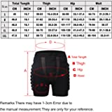 Guide 3D Hip Padded Shorts EVA Protective Pants for