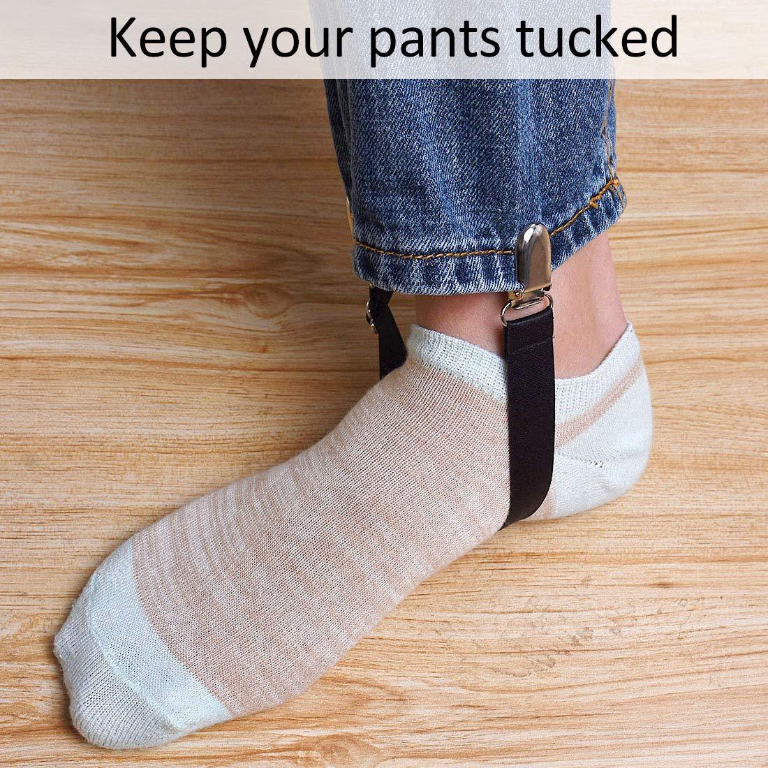 FREAHAP R Attache Drap de Lit Housse Clip pour Pantalon /élastiques Lot de 4