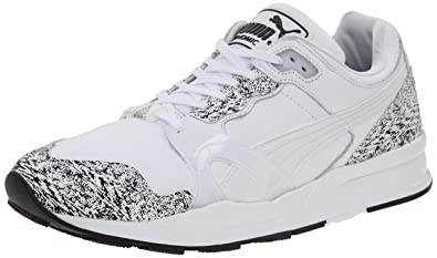 huge discount 1c26c 3f143 PUMA Trinomic XT2 (Snow Splatter Pack) Mens in White Black, 7