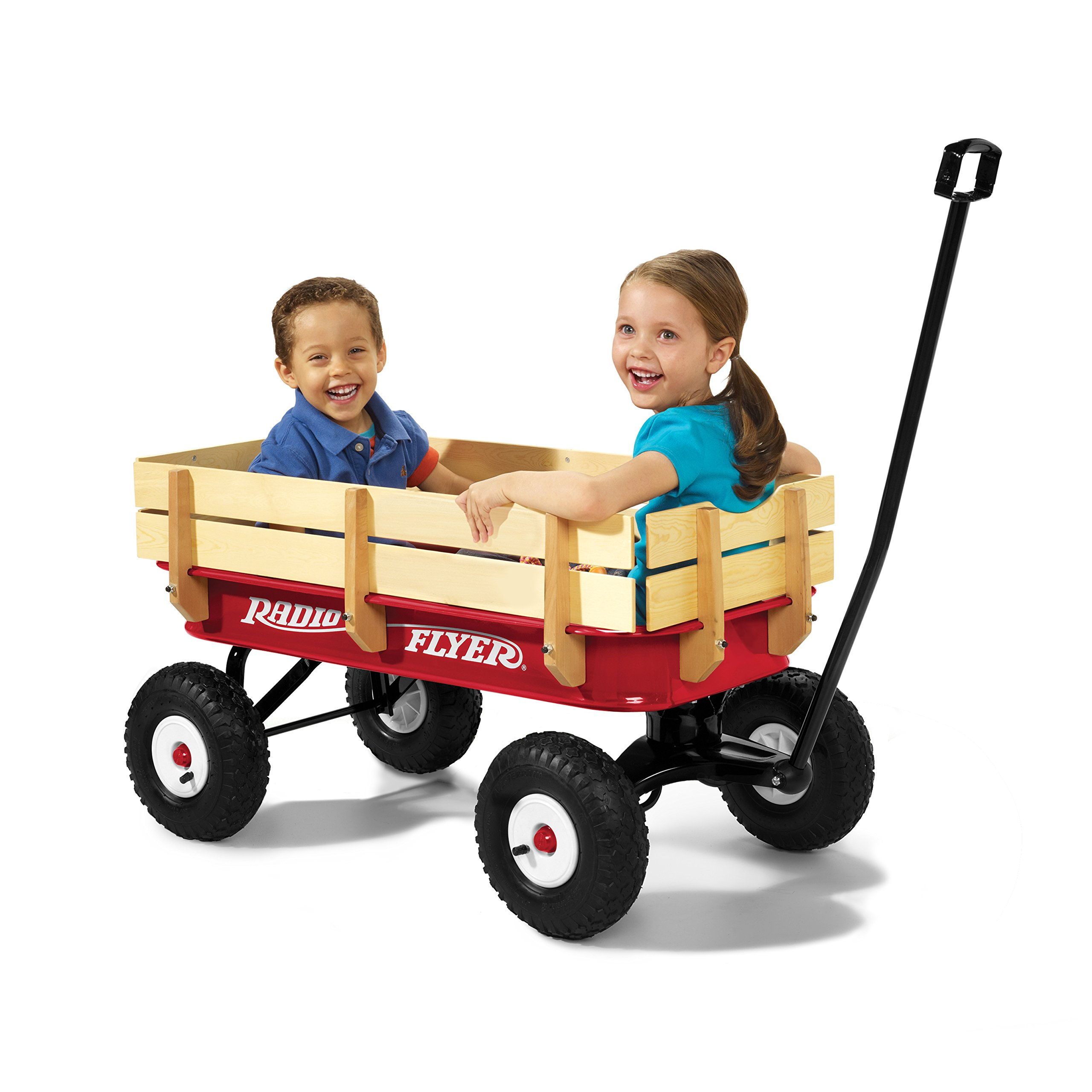 Radio Flyer Full Size All-Terrain Steel & Wood Wagon by Radio Flyer (Image #6)