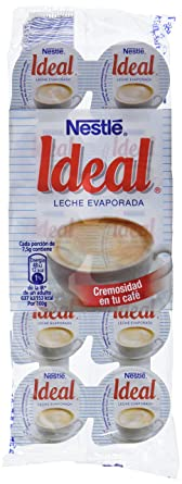 Nestl - Ideal - Leche evaporada - 10 x 7.1 ml - , Pack de 6