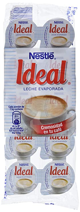 Nestl - Ideal - Leche evaporada - 10 x 7.1 ml - , Pack de 6: Amazon.es: Alimentación y bebidas