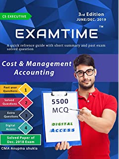 Cost and Management Accounting: Theory, Practice and MCQs: Amazon in