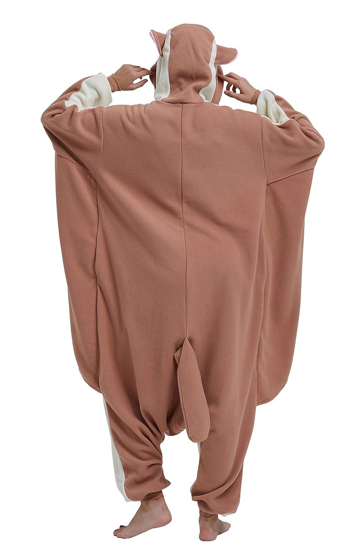 DELEY Unisex Erwachsene Pyjamas Party Cosplay Kost/üm Cartoon Tier Mit Kapuze Onesie Anime Nachtw/äsche Loungewear