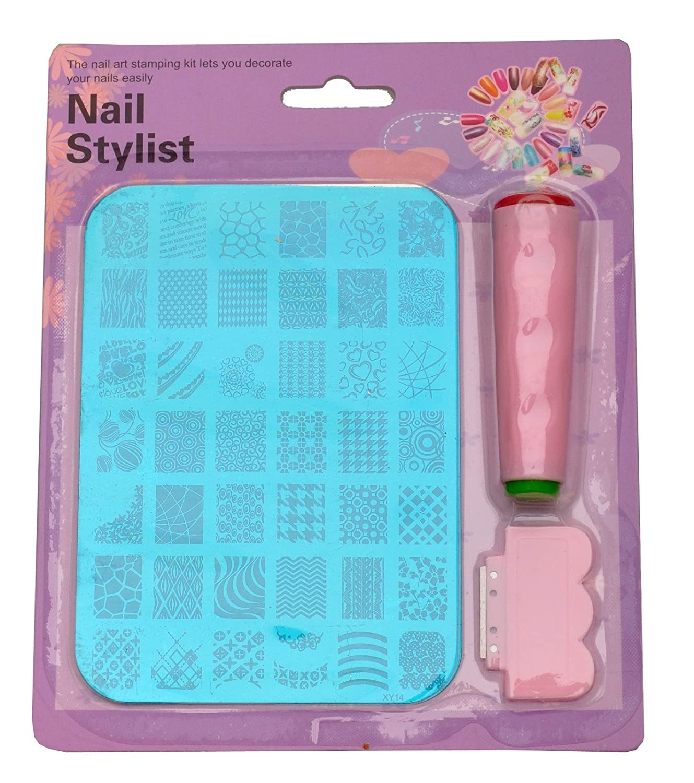 Buy Lifestyle-YouTM Nail Art Stamping Kit Decoration Jumbo Image ...