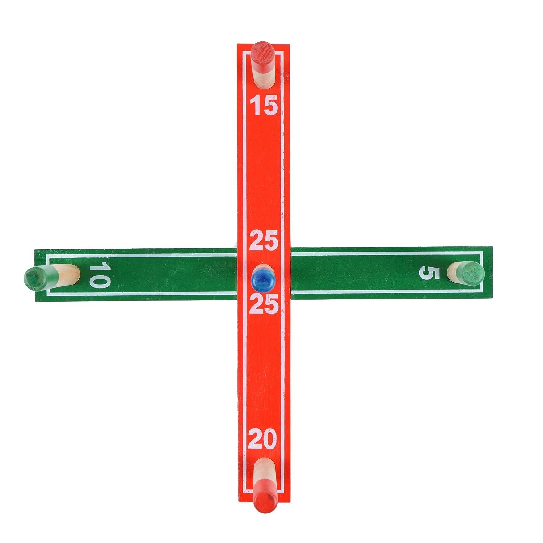 Ocean5 - Ringwurfspiel Bausatz inkl. 4 Ringe - der Spielzeug-Klassiker, Gartenspiel Wurfspiel - Das Geschicklichkeitsspiel aus Holz 3S GmbH & Co. KG