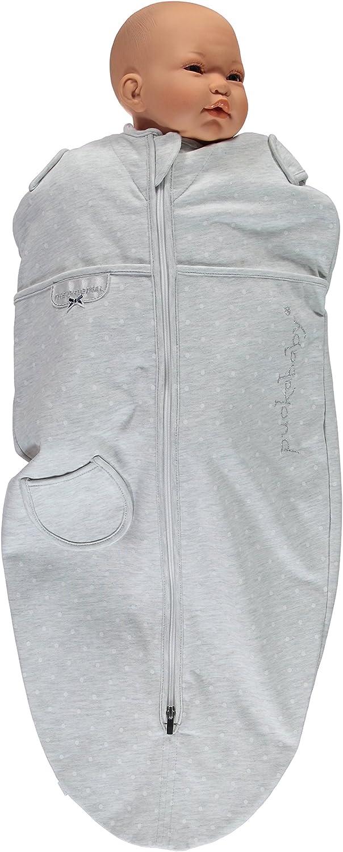 Saco de dormir arrullos//saco de dormir tipo faja Puckababy/® MINI 3//6 meses