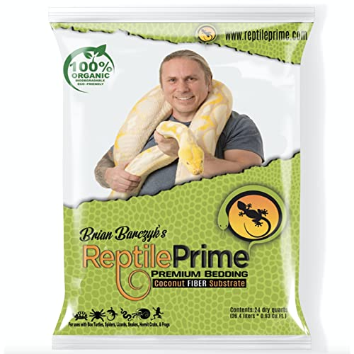 Reptile Prime Coconut Fiber Bedding Substrate for reptiles, amphibians, or invertebrates