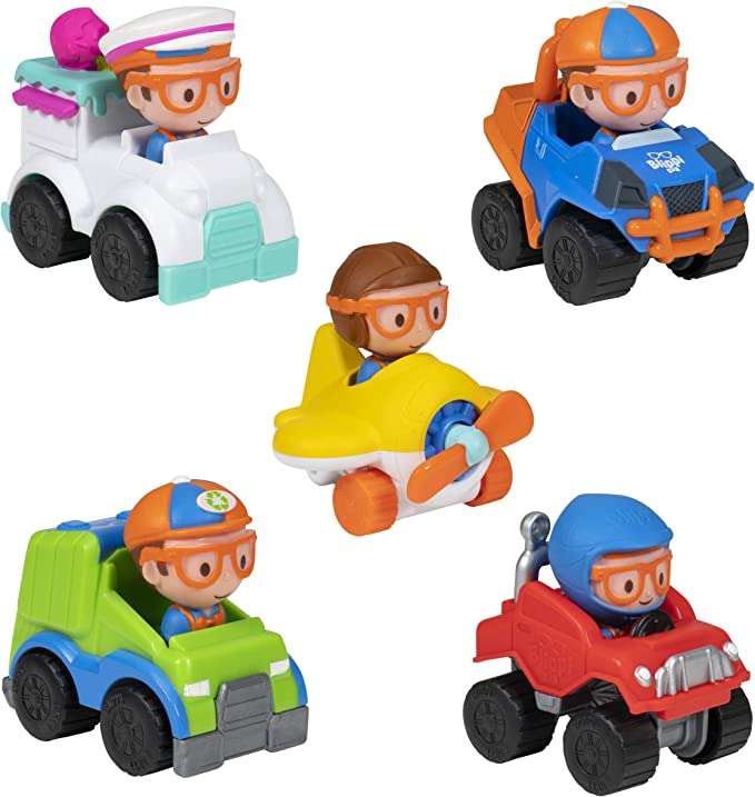 Blippi Fire Truck Mini Vehicle New with Tags