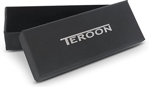 Teroon Corbata Deslizante Corta Rosegold Grabado Adecuado: Amazon ...