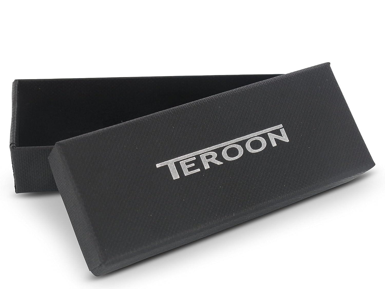 Teroon - Pinzas para Corbata (nácar y ónix): Amazon.es: Joyería