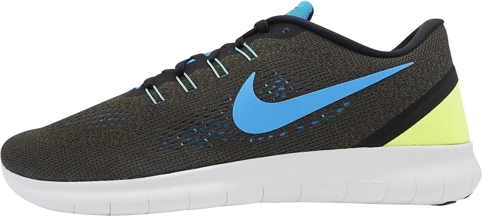 Nike 831508-301, Zapatillas de Trail Running para Hombre, Verde (Cargo Khaki/Blue Glow-Black-Volt), 38.5 EU: Amazon.es: Zapatos y complementos