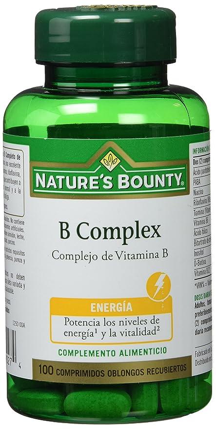 Natures Bounty B Complex Complejo de Vitamina B - 100 Comprimidos