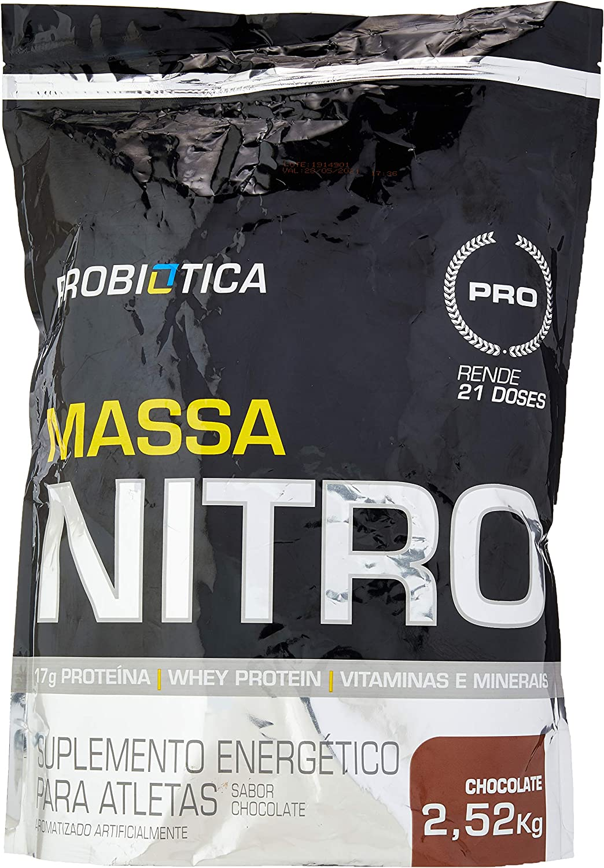Massa Nitro, Probiótica, Chocolate, 2520G por Probiótica