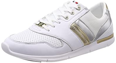 097c32e2198ebe Tommy Hilfiger Light Weight Leather Sneaker