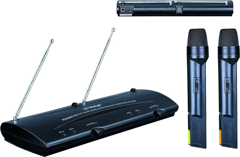 Pyle-Pro azpdwm2100 de micrófono inalámbrico sistema de micrófono ...